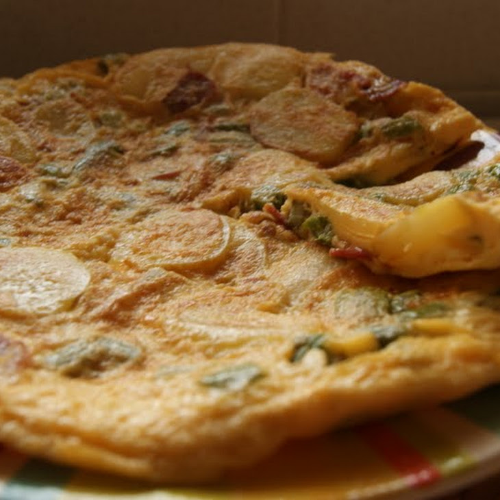 Asparagus and Potato Tortilla
