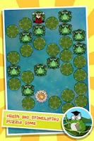 Screenshot of King of Frogs Puzzle Pond