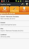 Screenshot of Aspone: Guia de feriados