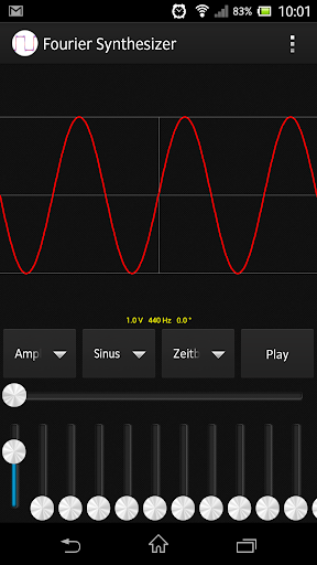 Fourier Synthesizer