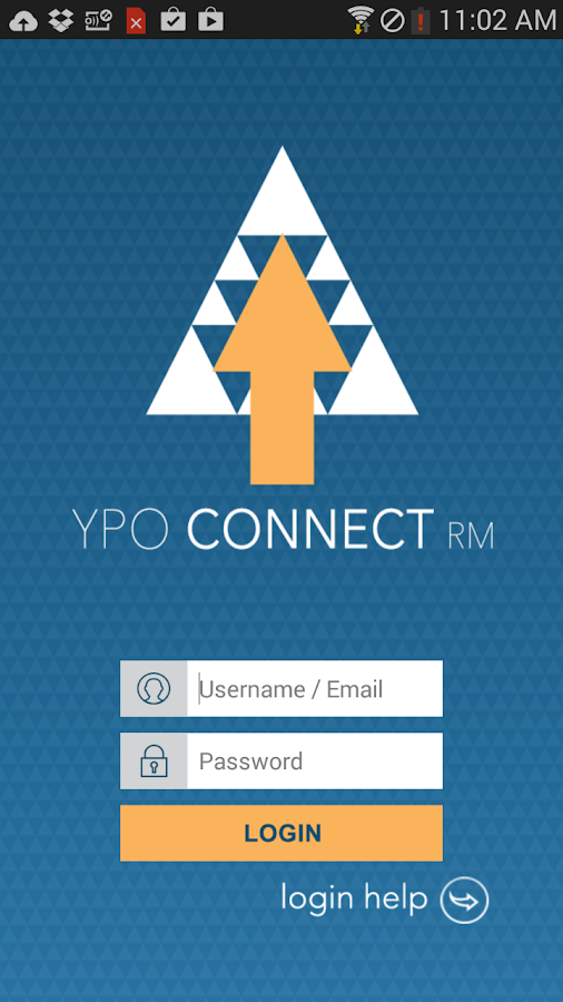 YPO Connect RM- screenshot