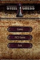 Screenshot of Steel Chess (FICS)