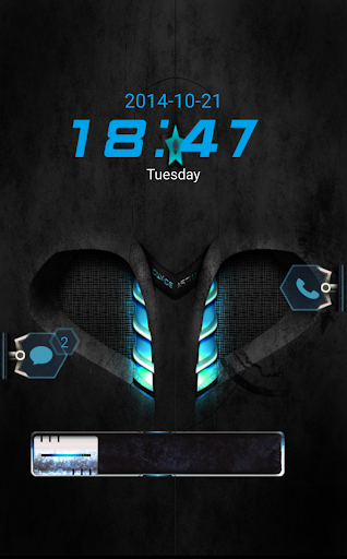 Bluestar Go Locker Theme
