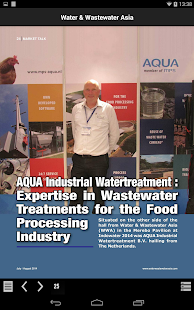 Water & Wastewater Asia- screenshot thumbnail