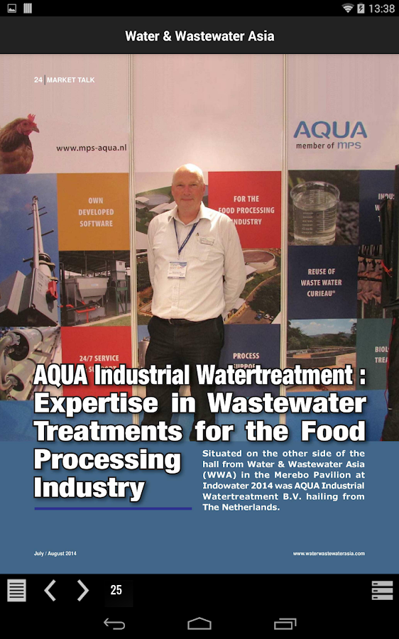 Water & Wastewater Asia- screenshot