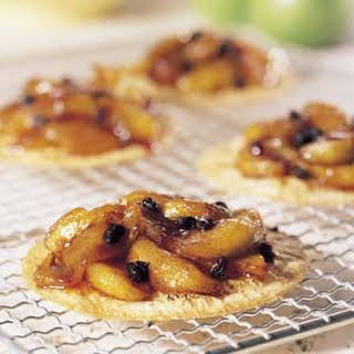 Caramelized Spiced Apple Tartlets.