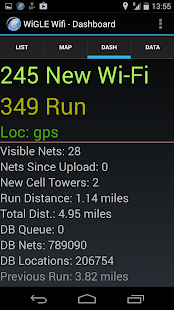 Wigle Wifi Wardriving - screenshot thumbnail