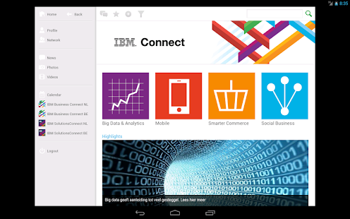 IBM Connect- screenshot thumbnail