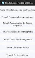 Screenshot of Fundamentos Fisicos Informatic