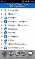 Screenshot of Hungary - FREE Travel Guide