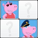 Pepita Pig Memory icon