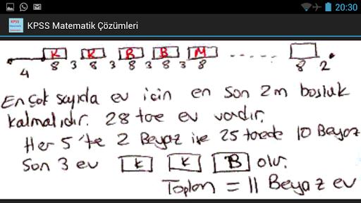 KPSS Matematik Çözümleri