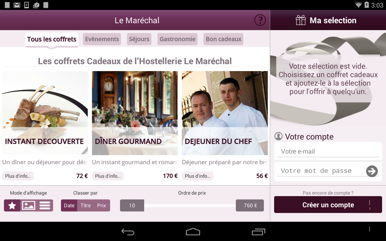 HOSTELLERIE LE MARECHAL- screenshot