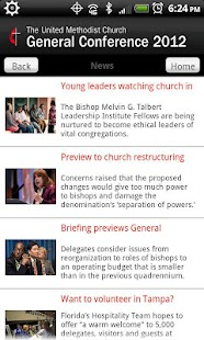 UMC General Conference - screenshot thumbnail