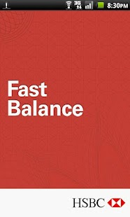 HSBC Fast Balance - screenshot thumbnail