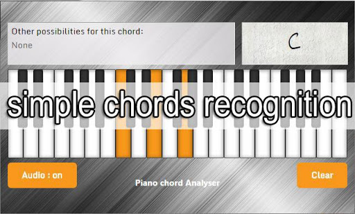 Piano Chord Analyser