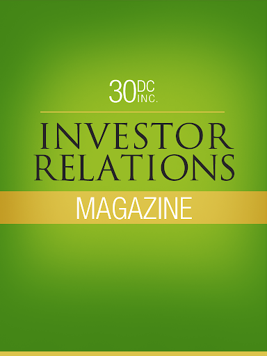 30DC Investor Relations Mag