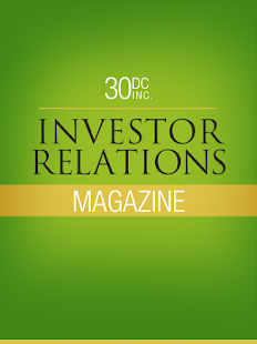 30DC Investor Relations Mag- screenshot thumbnail