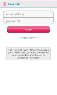 Ticketbud- screenshot thumbnail
