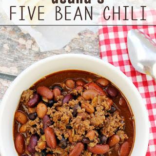 Deana's Five Bean Chili
