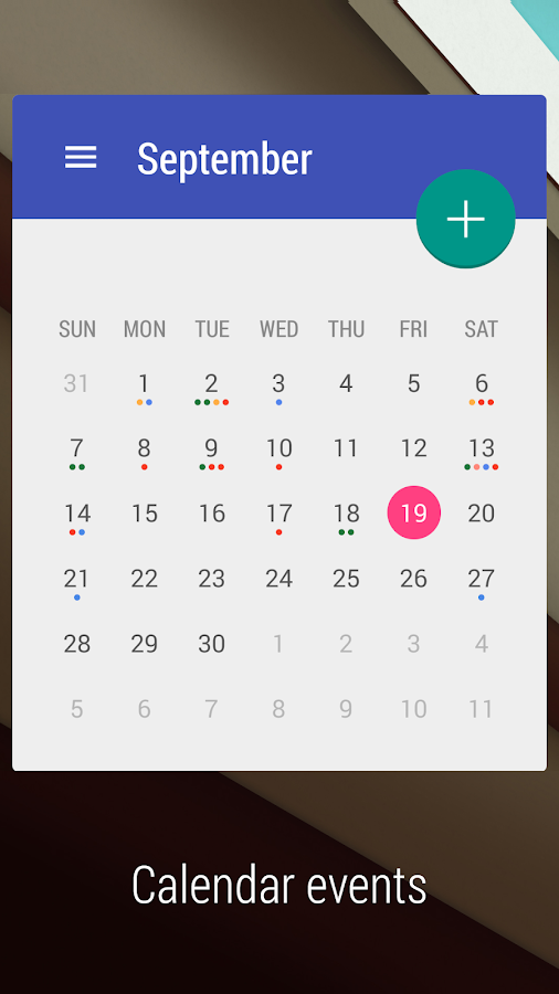 Calendar Wallpaper For Android : Month calendar widget android apps on google play