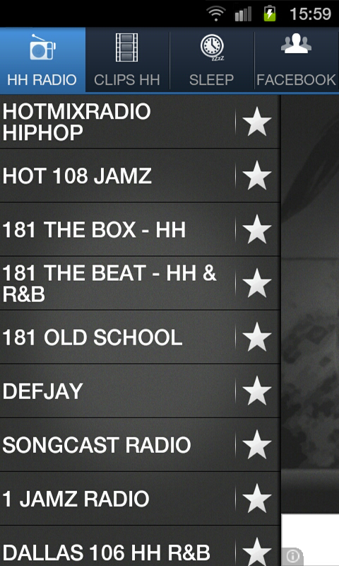 HIPHOP RADIO - screenshot