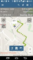 Screenshot of Map Pad GPS Surveys & Measure