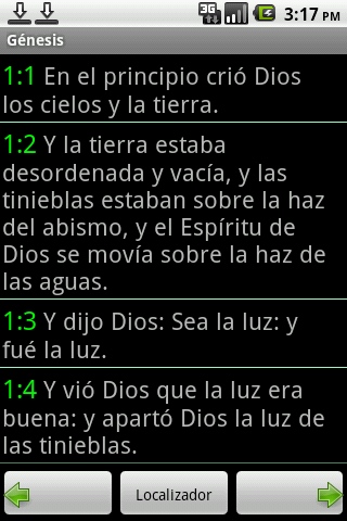 Portuguese Bible- screenshot