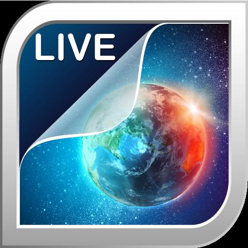 地球動態壁紙 個人化 App LOGO-硬是要APP