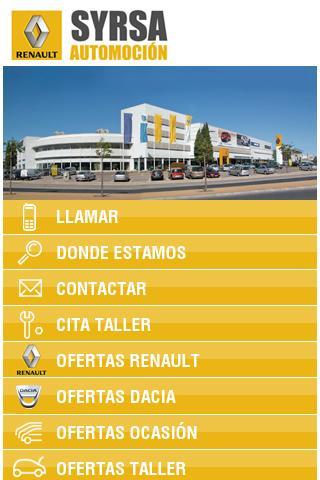 Renault Syrsa Automoción - screenshot