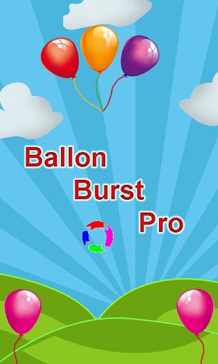 Baloon Burst Pro