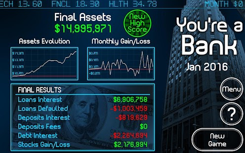 You're a Bank - screenshot thumbnail