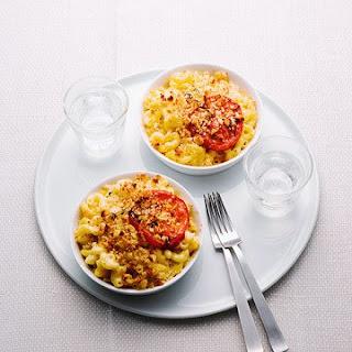Lighter Macaroni and Cheese.