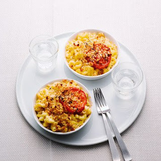 Lighter Macaroni and Cheese.