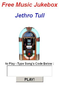 Jethro Tull JukeBox - screenshot thumbnail