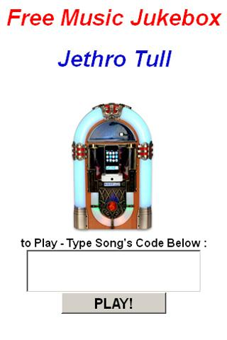 Jethro Tull JukeBox - screenshot