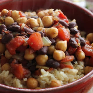 Jamaican Chickpea Stew.