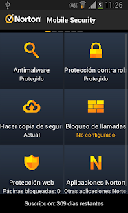 Norton Antivirus y Seguridad - screenshot thumbnail