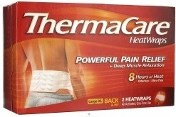Thermacare Lower Back and Hip Single Use Heatwraps - 2ct