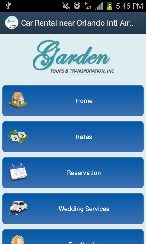 Garden Tours & Transportation- screenshot