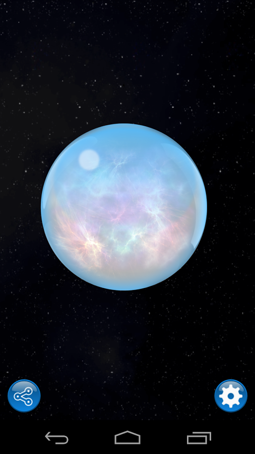 Magic ball - screenshot