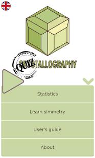 Quiztallography screenshot