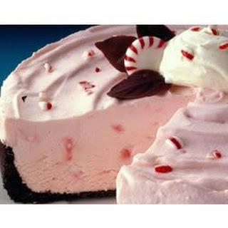 Frozen Peppermint Cheesecake