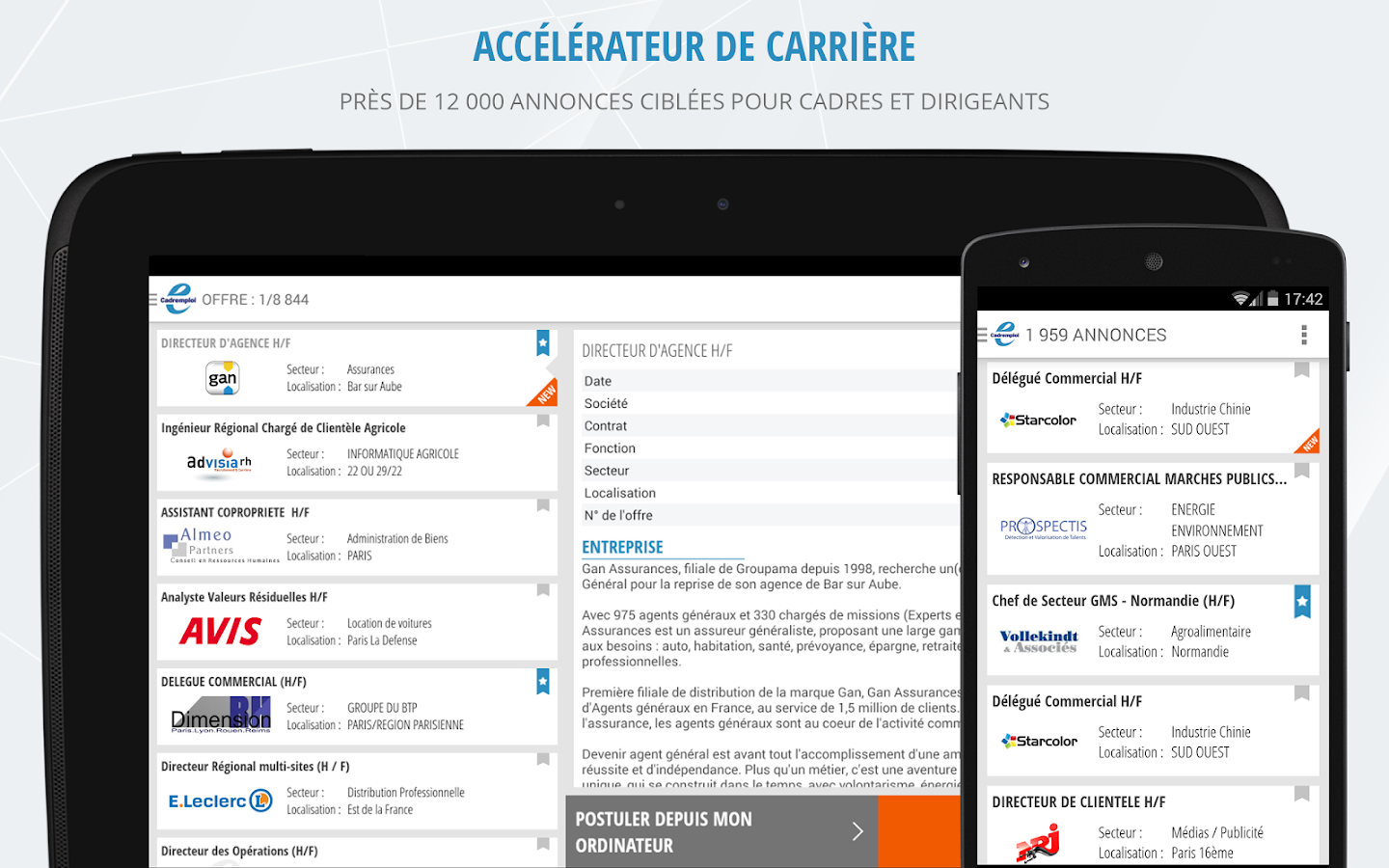 cadremploi offre emploi cadre applications android sur play
