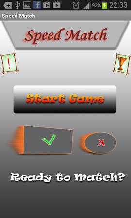 Speed Match - Matching Game 1.2 screenshot 58092
