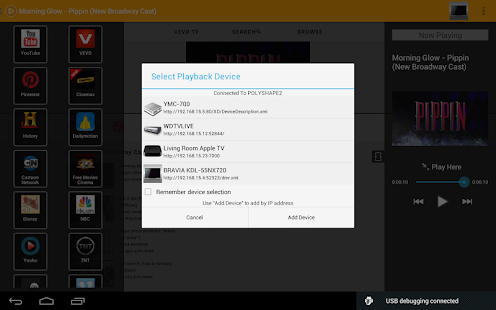 PlayTo Roku/Chromecast/DLNA TV - screenshot thumbnail
