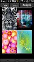Screenshot of Backgrounds HD Wallpapers