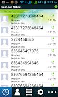 Screenshot of Fresh Call