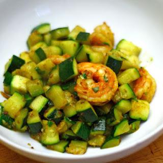Ruta Kahate's Coriander Shrimp with Zucchini