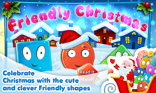 Friendly Shapes XMAS Storybook- screenshot thumbnail